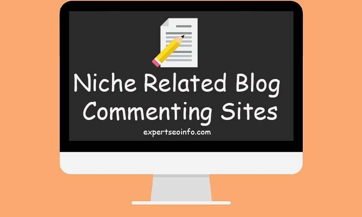 How to find Niche related blog commenting sites